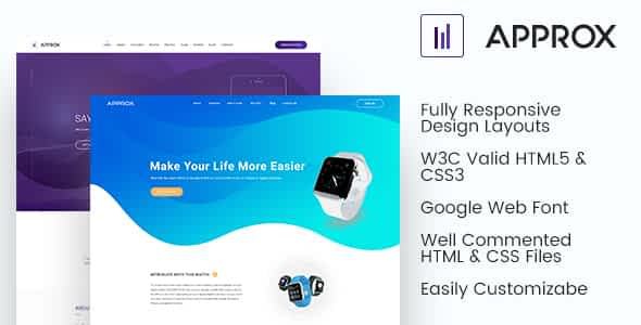 Approx HTML Responsive Template