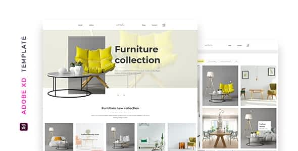 Enkel – Furniture Company Template for XD