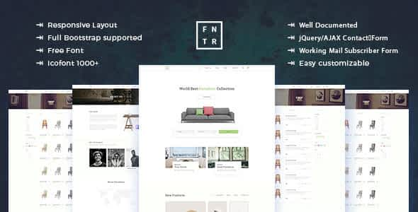 Furniture - ecommerce Product Template