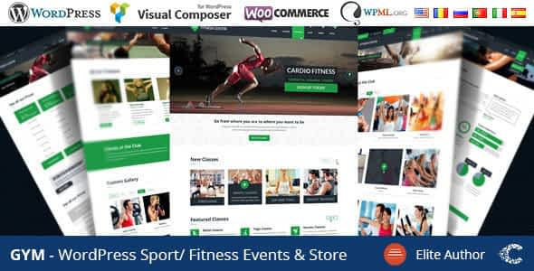 GYM - Sport Fitness Bootstrap Responsive Theme