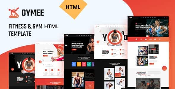 GYMEE - Fitness and Gym HTML5 Template