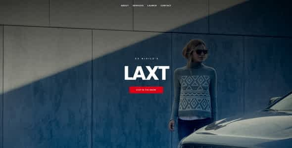 Laxt || Under Construction / Coming Soon Template