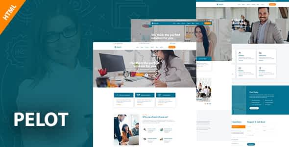 Pelot - Consulting, Business, Finance HTML5 Template