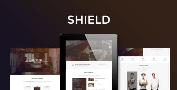 Shield - Corporate and Shop Responsive HTML Bootstrap 3 Template