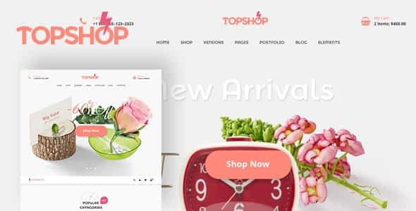 Topshop eCommerce - Html Template