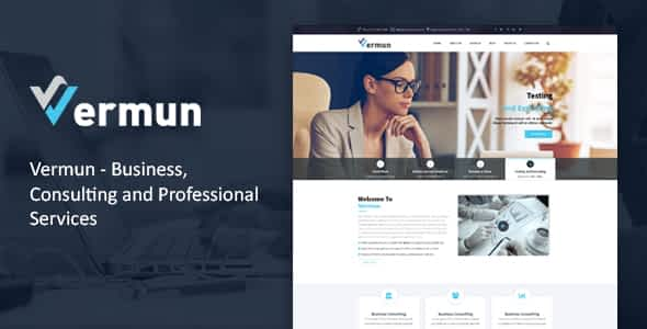 Vermun | Consulting and Business & Finance WordPress Theme