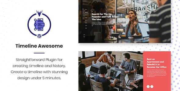 Timeline Awesome Pro - Timeline and History WordPress Plugin