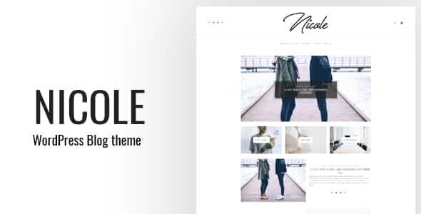Nicole - Clean WordPress Blog Theme Nulled