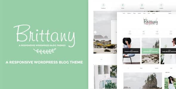 Brittany - A Responsive WordPress Blog Theme Nulled