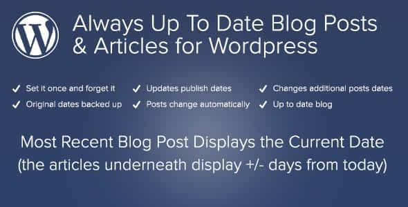 Always Up To Date WordPress Posts and Articles