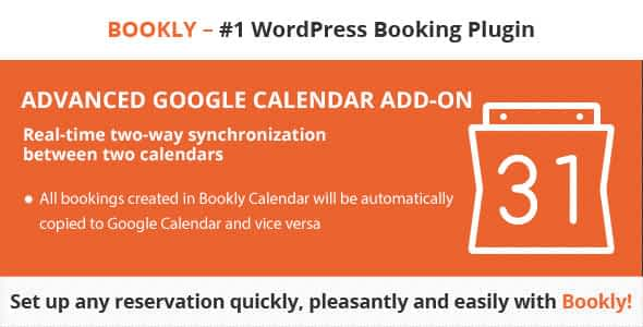 Bookly Advanced Google Calendar (Add-on)