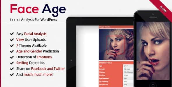 Face Age - WordPress Age, Gender, Emotion, Smile, Hair, Glas...