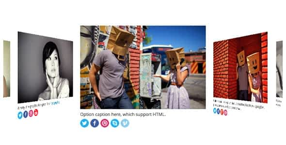 Flip Carousel and Coverflow for WordPress