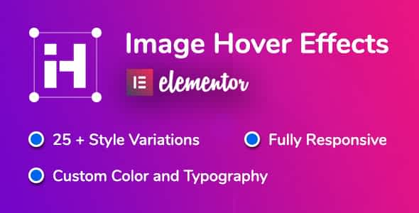 Image Hover Effects for Elementor