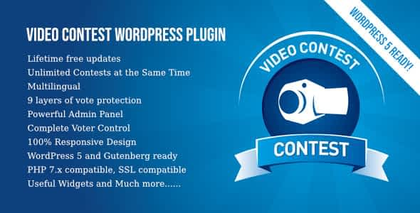 Video Contest WordPress Plugin