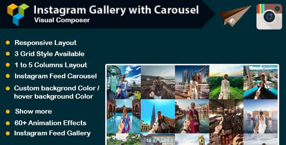 WPBakery Page Builder - Instagram Gallery with Carousel (for...