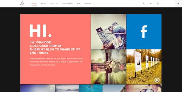 DW Fixel - Responsive WordPress Blog Theme Nulled