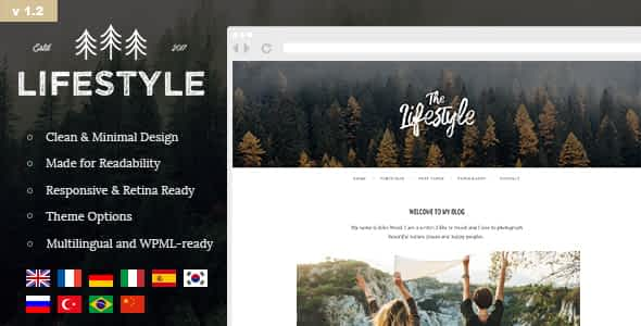 The Lifestyle - Vintage & Simple WordPress Blog Theme Nulled