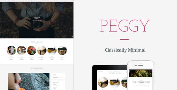 Peggy - A Responsive WordPress Blog Theme Nulled