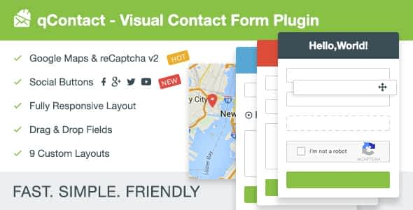 qContact Form Builder - Easy Contact Form