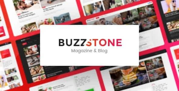 Buzz Stone | Magazine & Viral Blog WordPress Theme Nulled