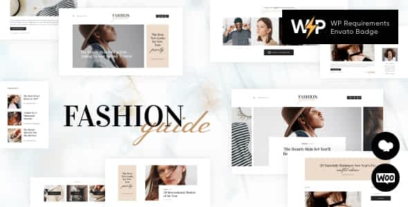 Fashion Guide | Online Magazine & Lifestyle Blog WordPress T... Nulled
