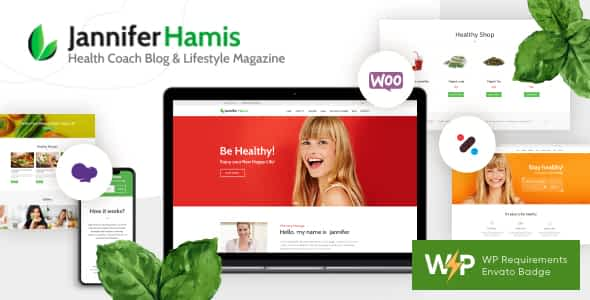 Health Coach Blog & Lifestyle Magazine WordPress Theme Nulled