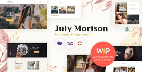 July Morison | An Alluring Event Photographer's Portfolio & ... Nulled