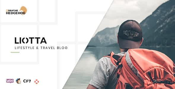 Liotta - a Responsive Blog Theme For WordPress Nulled