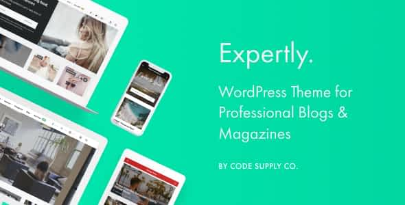 Expertly - WordPress Blog & Magazine Theme for Professionals Nulled