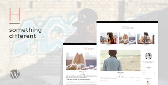 Hanford - Personal & Clean WordPress Blog Theme Nulled
