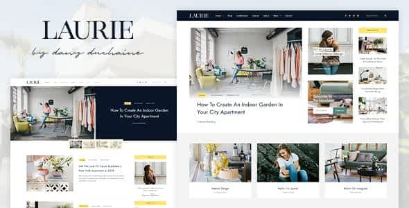 Laurie - An Interior Design WordPress Blog & Shop Theme Nulled