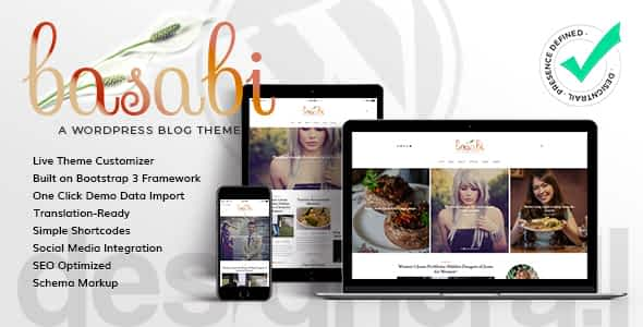 Basabi - Blog WordPress Theme Nulled