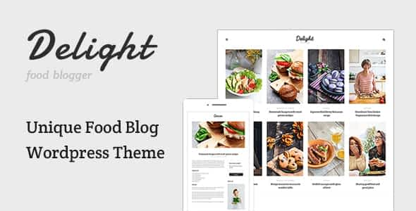 Delight - Food Blog WordPress Theme Nulled