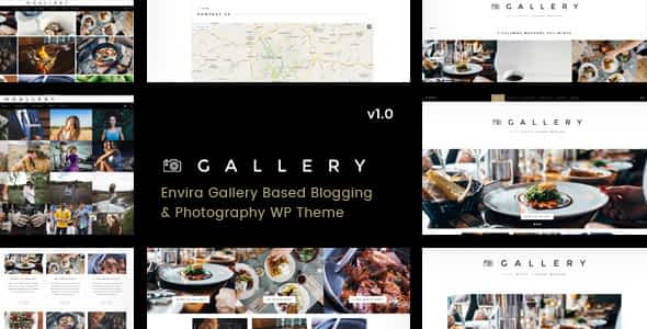 Gallery - Blogging & Envira WordPress Theme Nulled