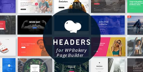 Headers for WPBakery Page Builder (Visual Composer)