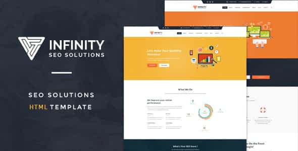 Infinit - High Performance HTML SEO Template Nulled