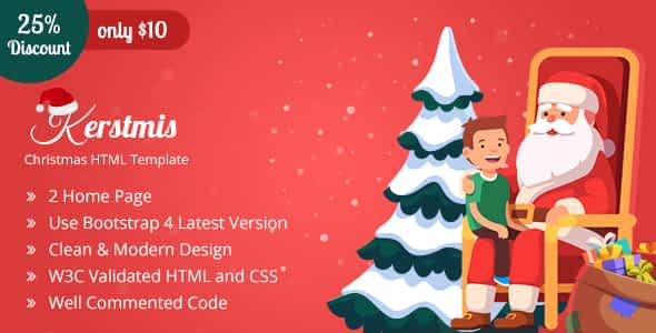 Kerstmis-Christmas Party HTML Template Nulled