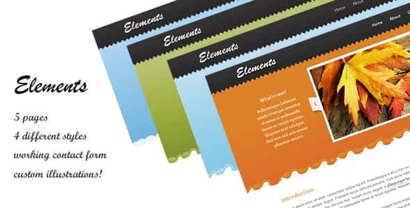 Elements Site Template Nulled
