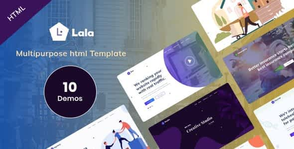 Lala - Multipurpose HTML Template Nulled