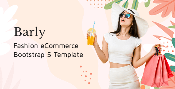 Barly - Fashion eCommerce Bootstrap 5 Template Nulled