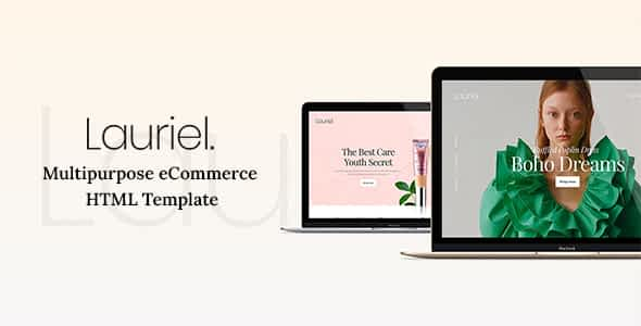 Lauriel - Multipurpose eCommerce HTML Template Nulled