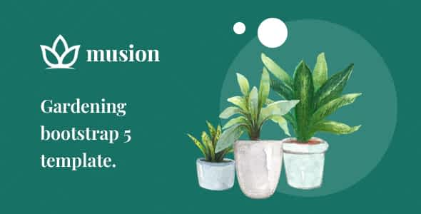 Musion – Gardening and Landscaping HTML Template Nulled