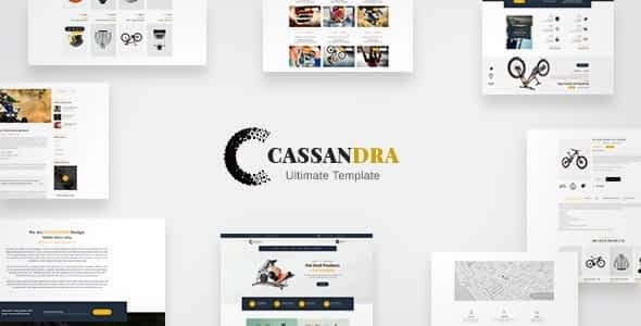Cassandra - Ultimate Site Commerce Template Nulled