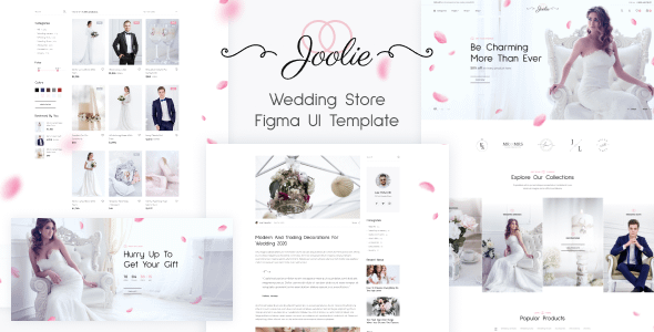 Joolie - Wedding Store HTML Template Nulled