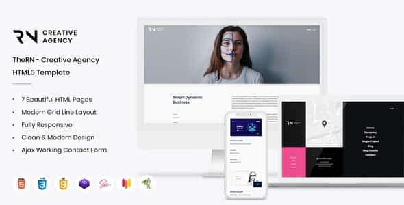 TheRN - Agency HTML Template Nulled