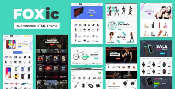 Foxic - eCommerce HTML Template Nulled