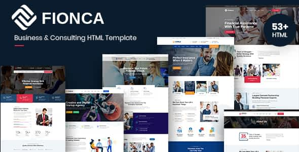 Fionca - Business & Finance HTML Template Nulled