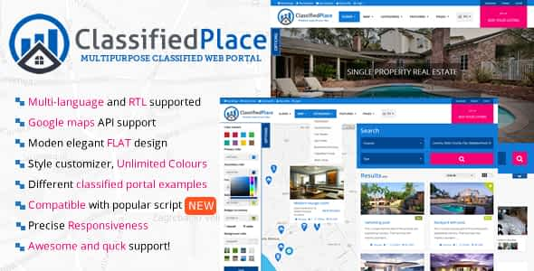 Real Estate - Geo Classified Ads Nulled