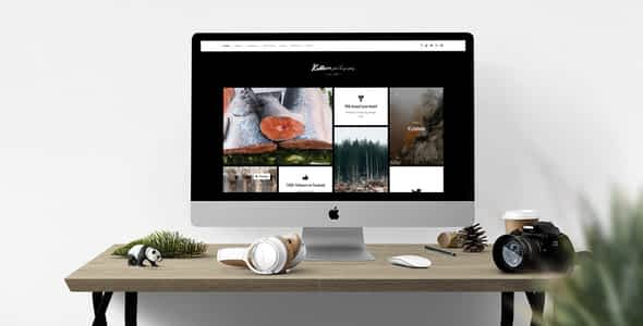 Killeen – A Contemporary Portfolio for Photographers with Sh... Nulled